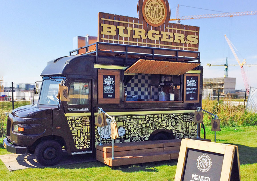 De mr Smakers Foodtruck